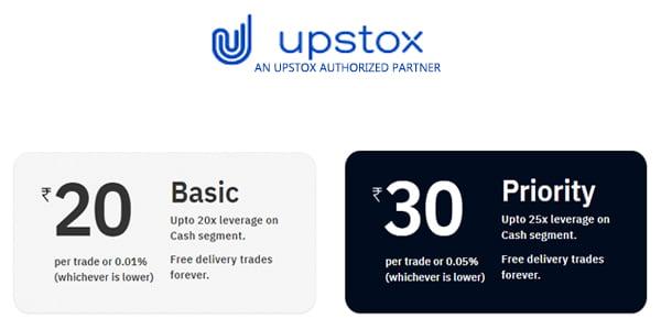 upstox brokerage