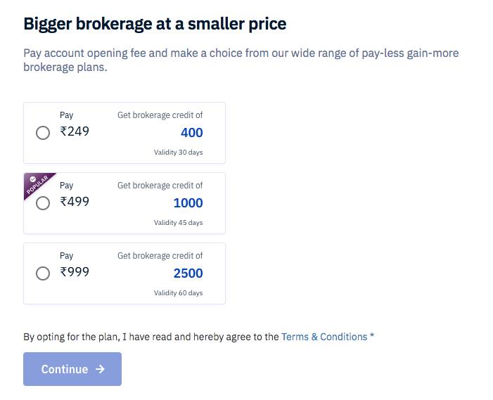 upstox brokerage charges